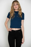 T-by-alexander-wang-womens-striped-mock-neck-shrunken-tee