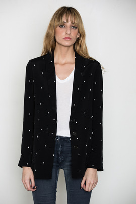 Something Else Diamond Suit Jacket