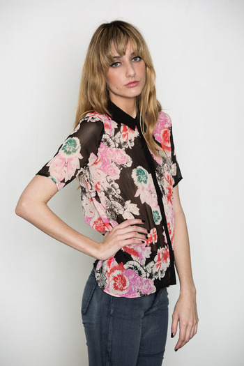 Something Else - Drippy Floral Shirt