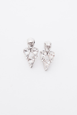Joomi Lim Crystal Skull Earrings