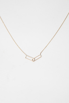 Vale 14K Interlocking Necklace