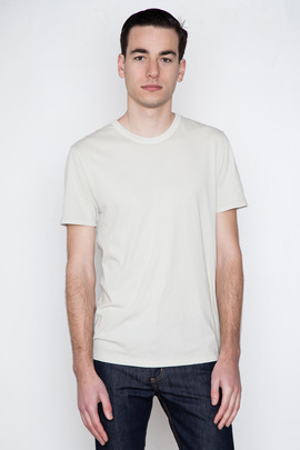 T by Alexander Wang Men's Parchment Classic S/S Tee