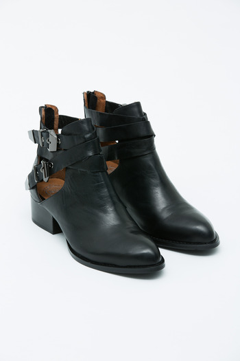 Jeffrey Campbell - Everly Buckled Cut-out Boot