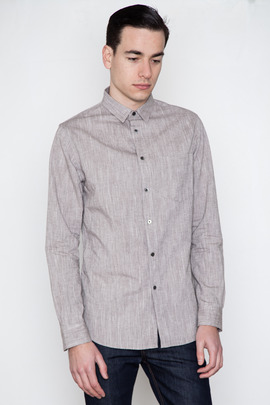 Wings + Horns L/S Cotton/Linen Shirt