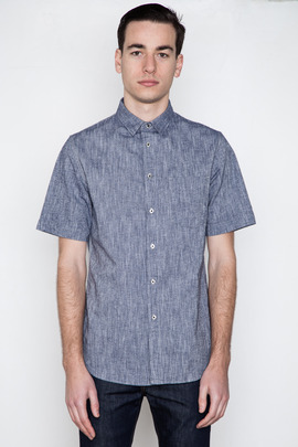 Wings + Horns S/S Cotton/Linen Shirt