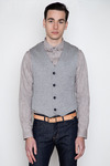 Wings-horns-double-faced-knit-vest
