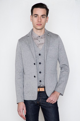 Wings + Horns Double-Faced Knit Blazer
