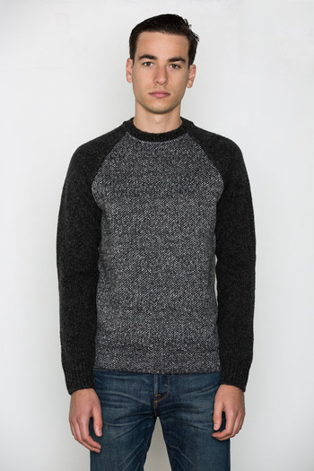 T by Alexander Wang Men's - Knit Sleeved Sweatshirt
