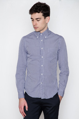 Gitman Bros. Vintage Navy Gingham