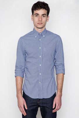 Gitman Bros. Vintage Black/Blue Gingham