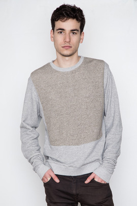 Robert Geller Bib Combo Sweatshirt