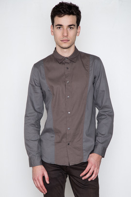 Robert Geller Combo Body Shirt