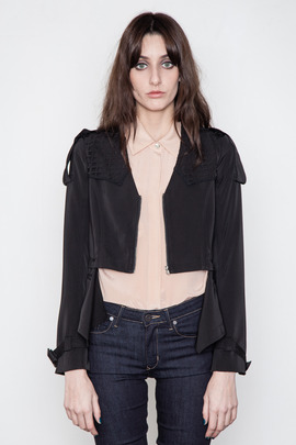 Funktional Black Image Cut Jacket