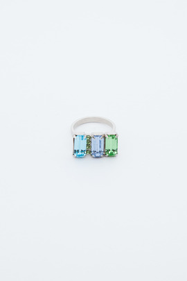 Joomi Lim Split Crystal Ring
