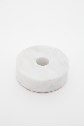 Fort Standard Circle Marble Candle Holder