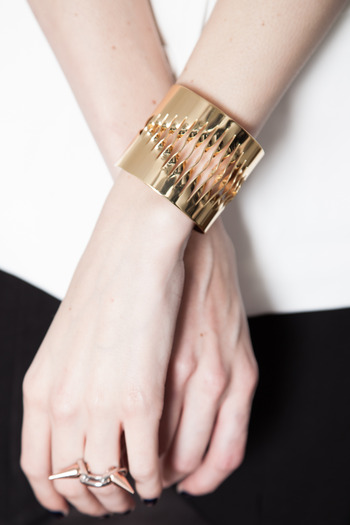 Joomi Lim - Twisted Ripple Cuff