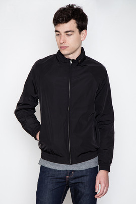 T by Alexander Wang Men's Matte Nylon Hidden Hood Jacket