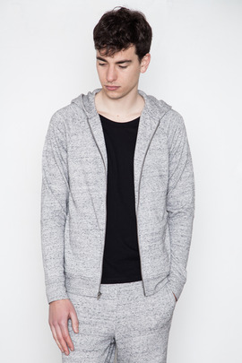 T by Alexander Wang Men's Nep French Terry Hoodie