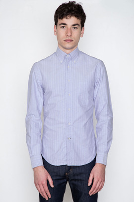 Gitman Bros. Vintage Lavender Vintage Stripe Oxford (1979)