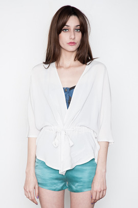 Minimarket Shan Belted Blouse