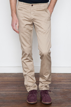 Wings + Horns Tan West Point Chino SS13