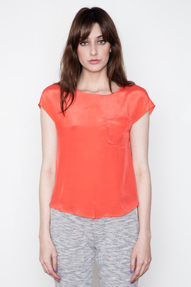 Funktional Coral Crossover Top