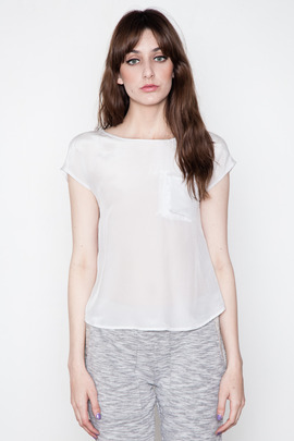 Funktional Grey Crossover Top