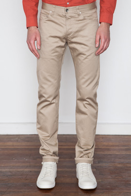 Wings + Horns Tan West Point 5-Pocket Pant