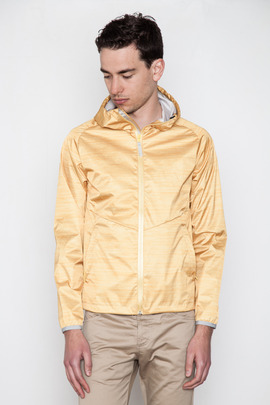 Reigning Champ Heather Yellow Hooded Jacket