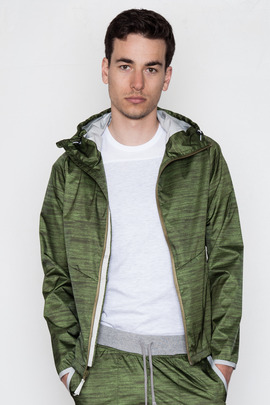 Reigning Champ Heather Olive Hooded Jacket
