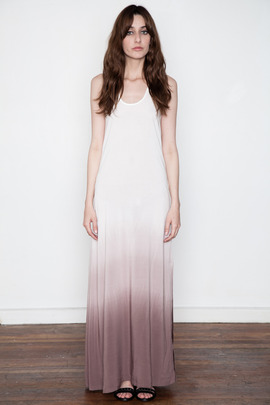 SILENT Women's Blush Dip-Dye Dockna Tank Dress