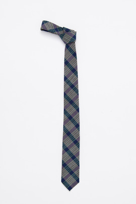 Gitman Bros. Vintage Green Vintage Top-Dyed Ikat Tie (1979)