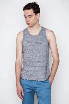 Wings + Horns Static Marled Jersey Tank