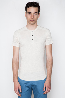 Wings + Horns Sand S/S Henley
