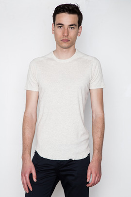 Wings + Horns Sand S/S Crewneck