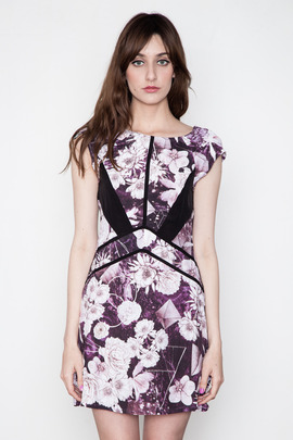 Something Else Space Floral Dress