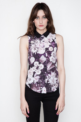 Something Else Space Floral Shirt