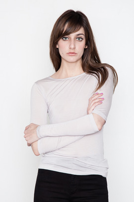 Cheap Monday Women's Blaine L/S Cut-Out Tee