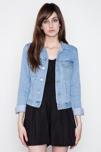 Cheap Ladies Denim Jackets - Coat Nj
