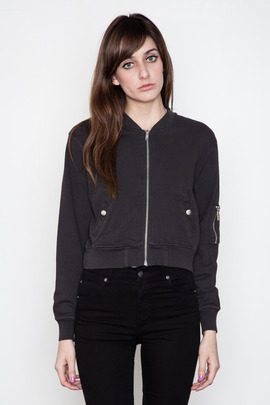 Cheap Monday Women's Sinead Zip Sweatshirt