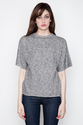 Ann-Sofie Back Studded Sweat Tee