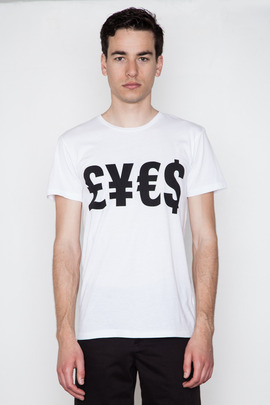 Cheap Monday Men's LIES Bruce Tee