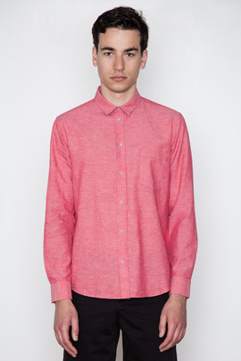Cheap Monday Men's Poppy Red Neo Shirt
