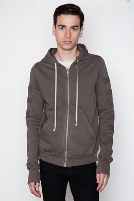 DRKSHDW Men's Jason Geopocket Hoodie