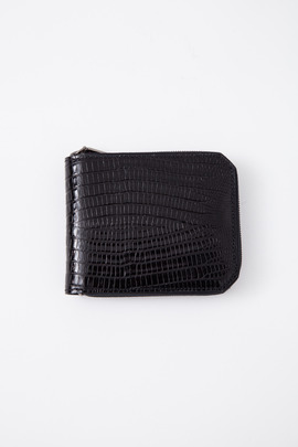 Alexander Wang Printed Lizard Zip Wallet
