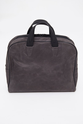 Alexander Wang Rubberized Calfskin Briefcase