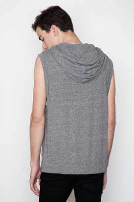 Kai-aakmann Men's Hooded Muscle Tee