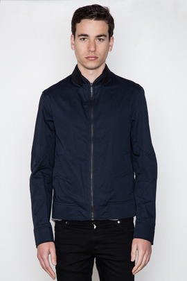 Kai-aakmann Men's Ribbed Collar Blouson