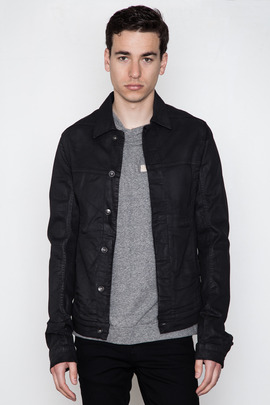 DRKSHDW Men's Black Wax Worker Jacket