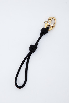 Miansai Black Picton Keychain